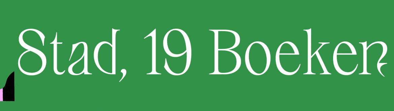 Afbeelding van 1 stad 19 boeken